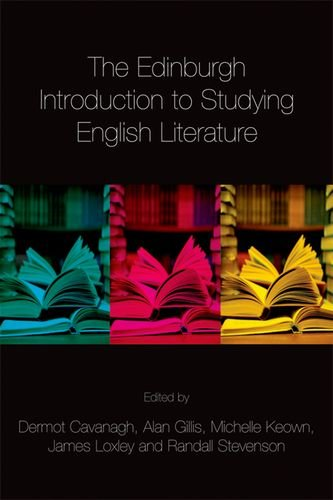9780748640256: The Edinburgh Introduction to Studying English Literature