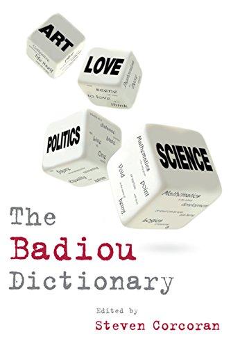 9780748640966: The Badiou Dictionary