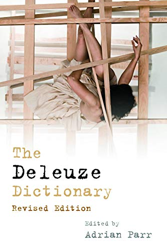 The Deleuze Dictionary Adrian Parr Editor