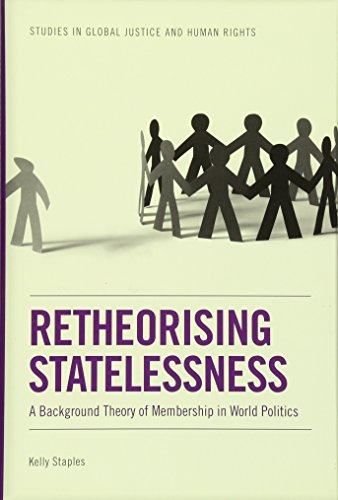 9780748642779: Retheorising Statelessness: A Background Theory of Membership in World Politics (Studies in Global Justice and Human Rights)
