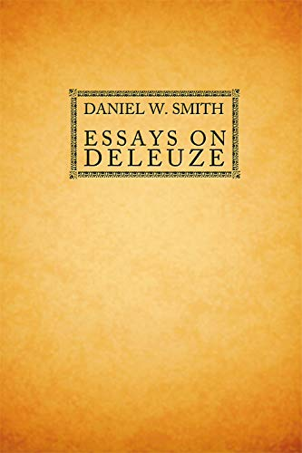 9780748643325: Essays on Deleuze