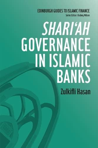 9780748645572: Shari'ah Governance in Islamic Banks (Edinburgh Guides to Islamic Finance)