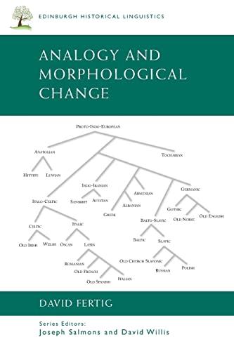 9780748646210: Analogy and Morphological Change (Edinburgh Historical Linguistics)
