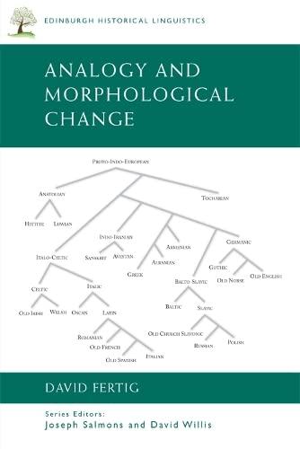 9780748646227: Analogy and Morphological Change (Edinburgh Historical Linguistics)