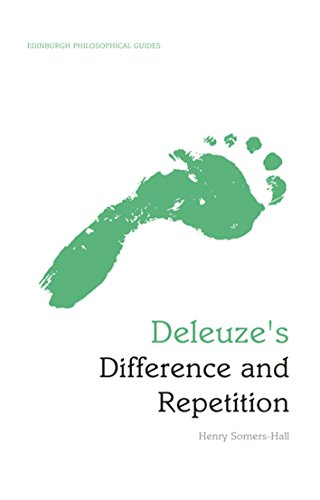 9780748646777: Deleuze's Difference and Repetition: Deleuze's Difference and Repetition: An Edinburgh Philosophical Guide (Edinburgh Philosophical Guides)