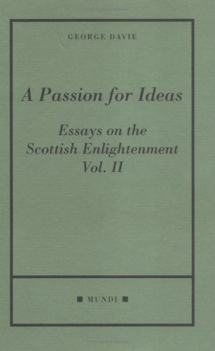English Essays Topics A Passion For Ideas Essays On The Scottish Enlightenment  Mundi Davie High School Admission Essay also Essay For Students Of High School A Passion For Ideas Essays On The Scottish Enlightenment  Mundi  Essay On Science And Technology