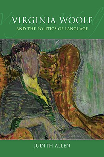 9780748664856: Virginia Woolf and the Politics of Language