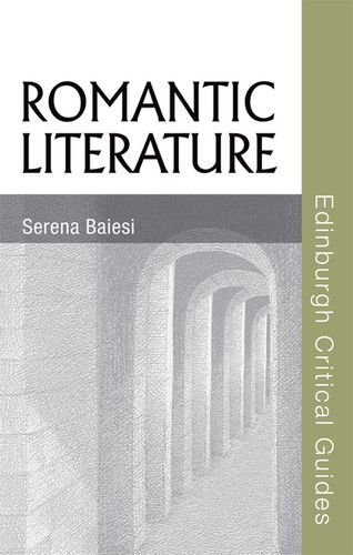 9780748665655: Romantic Literature