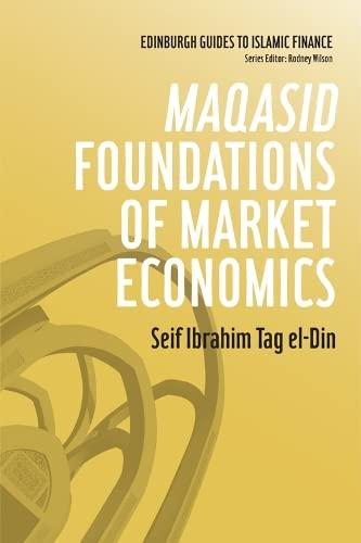 9780748670024: Maqasid Foundations of Market Economics (Edinburgh Guides to Islamic Finance)