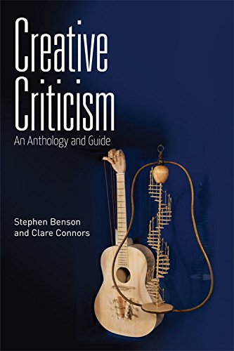 9780748674336: Creative Criticism: An Anthology and Guide
