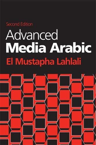 9780748683833: Advanced Media Arabic