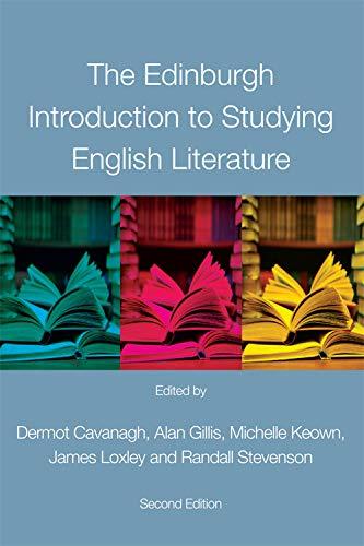 9780748691326: The Edinburgh Introduction to Studying English Literature
