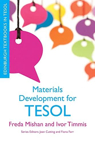 9780748691364: Materials Development for TESOL (Edinburgh Textbooks in TESOL)