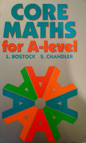 9780748700677: Core Maths for 'A' Level