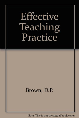 9780748701643: Effective Teaching Practice