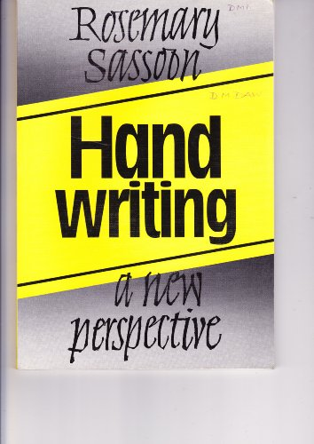 9780748701674: Handwriting: A New Perspective