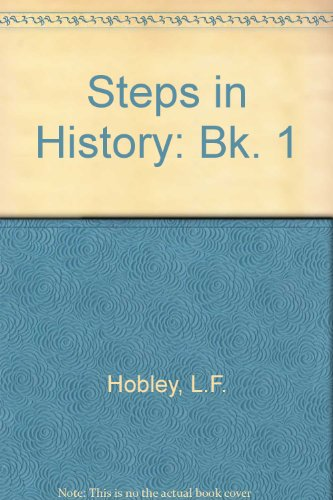 9780748701865: Steps in History: Bk. 1