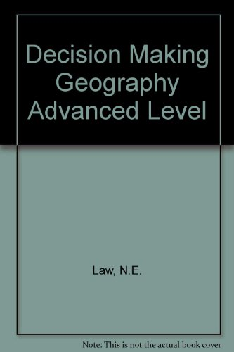 9780748702381: Decision Making Geography Advanced Level