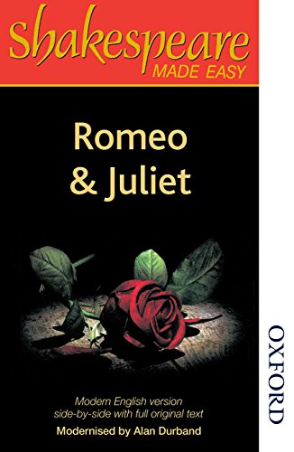 9780748702558: Romeo and Juliet (Shakespeare Made Easy; Parallel Edition)