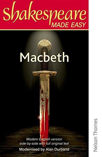 9780748702565: Shakespeare Made Easy - Macbeth