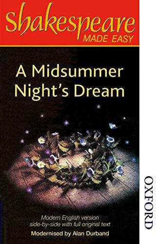 9780748702787: Shakespeare Made Easy - A Midsummer Night's Dream (Shakespeare Made Easy Series)