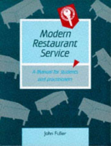 9780748702947: Modern Restaurant Service