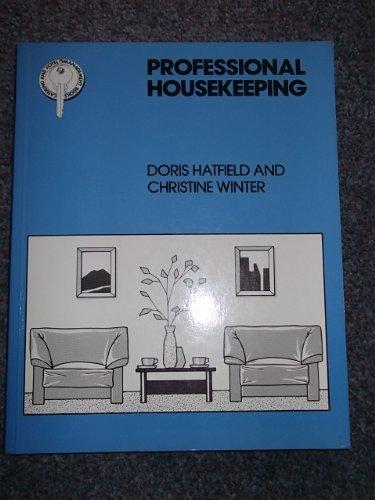 9780748702992: Professional Housekeeping