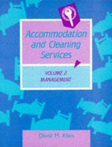 9780748703319: Accommodation and Cleaning Services: Management v. 2
