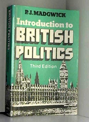 9780748703357: Introduction to British Politics