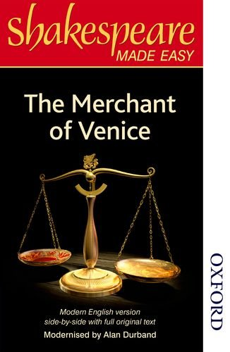 9780748703630: The Merchant of Venice: Original Text & Modern Verse (Shakespeare Made Easy Series)
