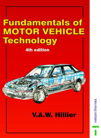 9780748705313: Fundamentals of Motor Vehicle Technology