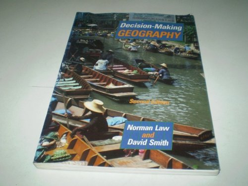 9780748711116: Decision Making Geography Advanced Level