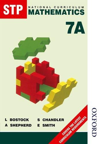 9780748720057: STP National Curriculum Mathematics Pupil Book 7A (Bk. 7A)