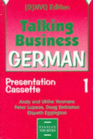 9780748721146: Talking Business - German Presentation Cassettes (2) (G)NVQ Edition
