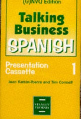 9780748721160: Talking Business: Presentation Cassettes: Spanish