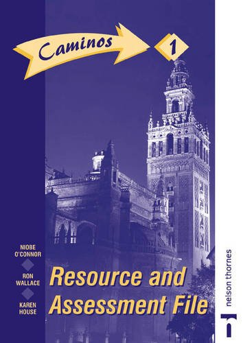 9780748722860: Caminos 1 segunda edicion- Resource and Assessment File: Resource and Assessment File Stage 1