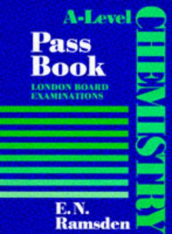 9780748724352: A-Level Chemistry Pass Books: London
