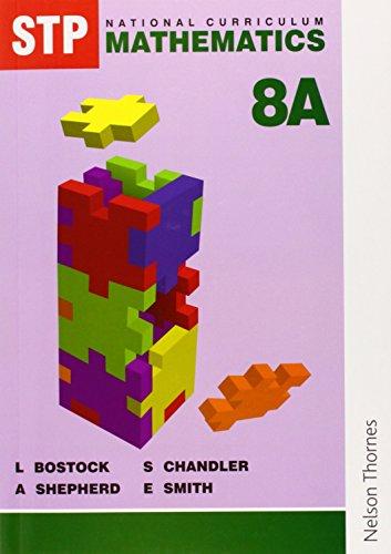 9780748724406: STP National Curriculum Mathematics Revised Pupil Book 8A: Student's Book Bk. 8A