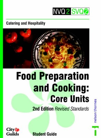 NVQ2/SVQ2 Catering and Hospitality - Food Preparation: Ware, Malcolm John,