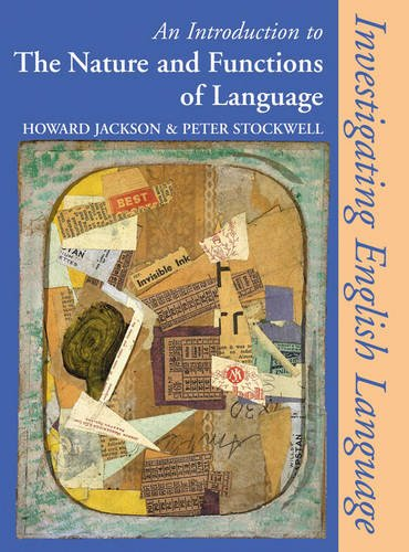 Introduction to the Nature and Functions of Language (Investigating English Language S.): Howard ...
