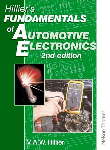 9780748726950: Hillier's Fundamentals of Automotive Electronics: Second Edition