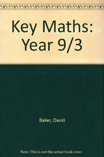 9780748727988: Key Maths: Year 9/3