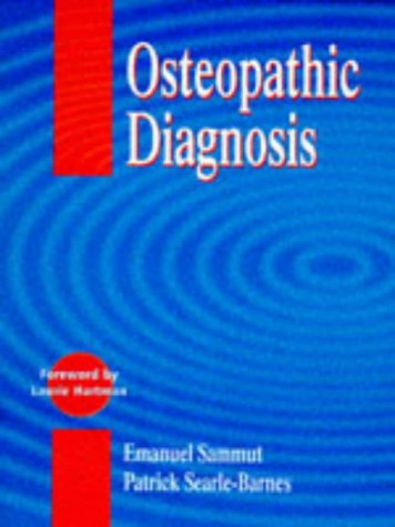 9780748732968: Osteopathic Diagnosis