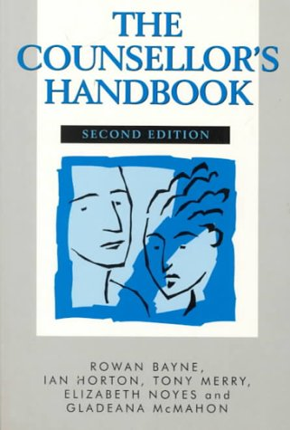 9780748733095: The Counsellor's Handbook Second Edition: A Practical A-Z Guide to Professional and Clinical Practice