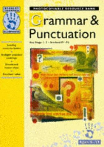 9780748734566: Grammar and Punctuation: Key Stage 1-2, Scotland P1-P6 (Blueprints)