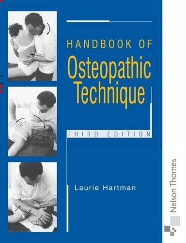 9780748737222: Handbook of Osteopathic Technique Third Edition