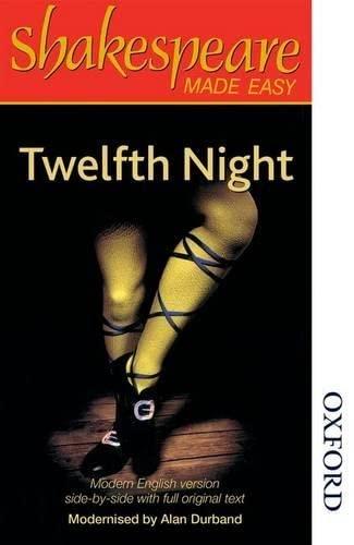 9780748737765: Shakespeare Made Easy - Twelfth Night