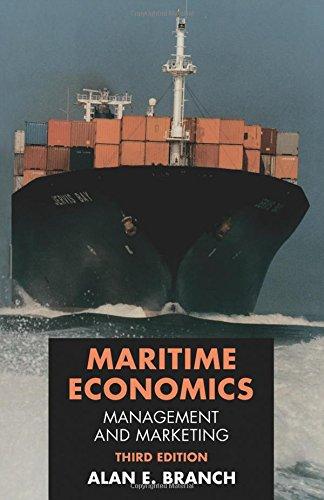 9780748739868: Maritime Economics: Management and Marketing