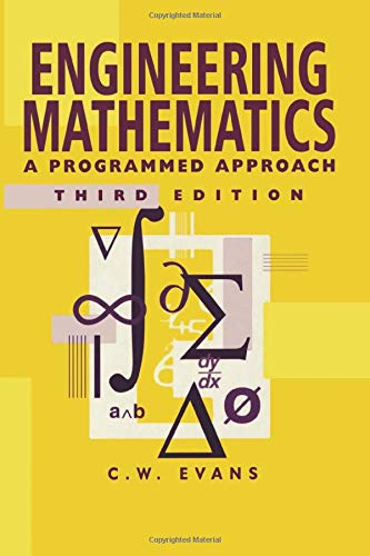 9780748740802: Engineering Mathematics: A Programmed Approach, 3th Edition