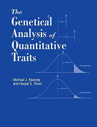 9780748740826: Genetical Analysis of Quantitative Traits